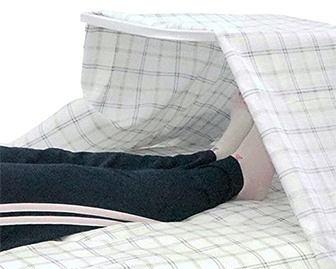 adjustable-blanket-support